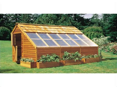 Wood Greenhouse Plans Build Your Own Greenhouse, Wooden