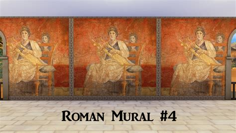ts ancient rome murals history lovers sims blog