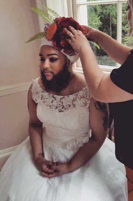 harnaam kaur  bearded bride arabia weddings