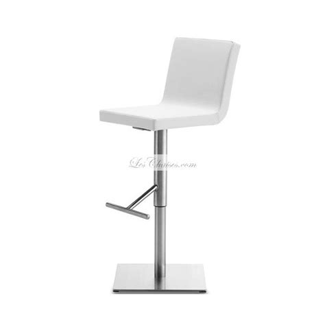 chaise de cuisine transparente tabouret bar design afro par domitalia