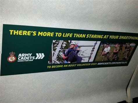 Leicestershire Army Cadet Force Bus Advertising