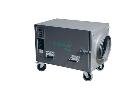 air clean  professional negative air machine