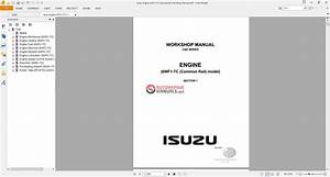 Isuzu Engine 6wf1