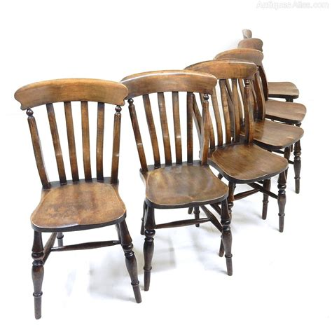 set of 6 farmhouse dining chairs antiques atlas