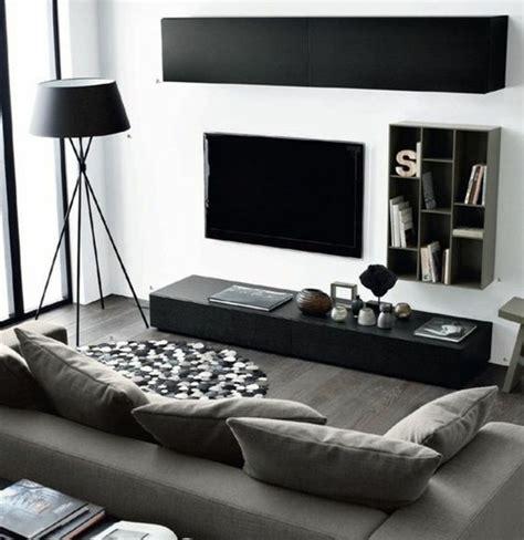 canapé convertible de luxe un salon en gris et blanc c 39 est chic voilà 82 photos qui