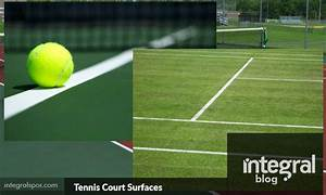 What are Tennis Court Surfaces Made of? - Integral