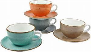 Geschirr Set Creatable : creatable cappuccino set 28 cl porzellan 8 teilig vintage nature online kaufen otto ~ Sanjose-hotels-ca.com Haus und Dekorationen