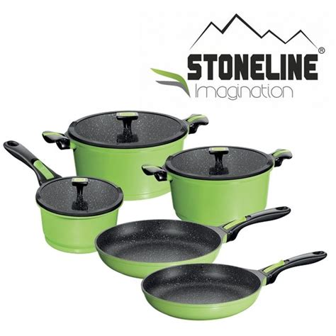 batterie de cuisine stoneline stoneline imagination ustensiles de cuisine