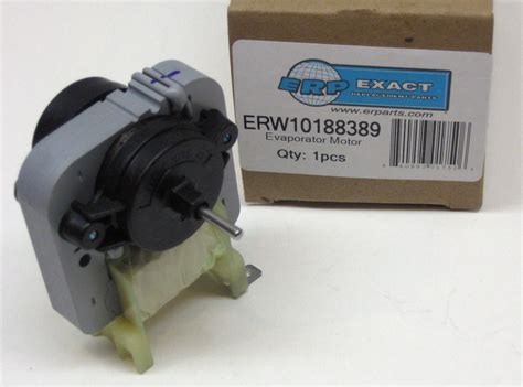 kenmore refrigerator parts fan motor w10188389 for whirlpool kenmore refrigerator evaporator