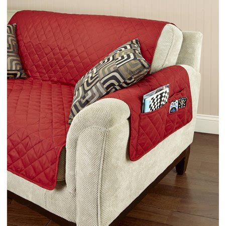 Furniture Seat Covers by Home Details Sided Seat Furniture Protector
