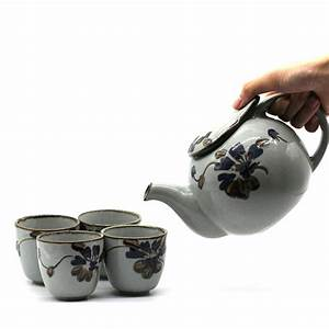 ᓂTeasets Pottery Tea ⊹ Kettle Kettle Pottery Porcelain