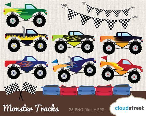 monster trucks races cartoon buy 2 get 1 free monster truck clipart monster truck