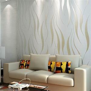 10m rolle moderne wallpaper stil beige weiss beige weissen With markise balkon mit italian style tapeten