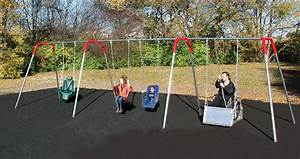 School Playground Swings