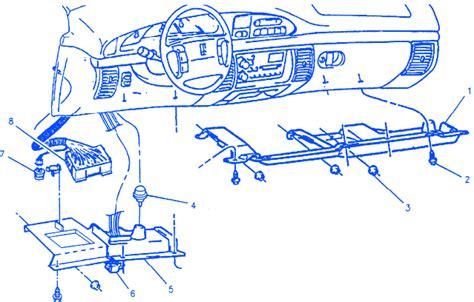 Oldsmobile Bravada Electrical Circuit Wiring Diagram