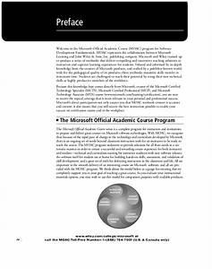 Software Development Fundamentals Exam 98