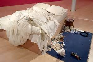 william s paintings give tracey emin s bed new meaning