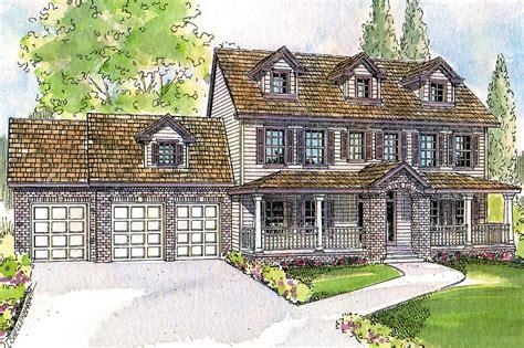 colonial house plans hanson    designs