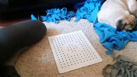 Schnüffelteppich Selber Machen Hundespielzeug Youtube
