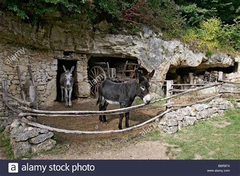 troglodyte azay le rideau cave dweller s farm troglodyte valley of the goupillieres stock photo royalty free image
