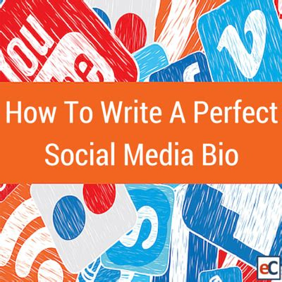 How To Write A Perfect Social Media Bio Eclincher