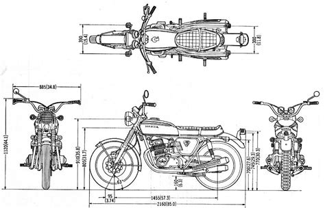 Motorcycle Engines And Blueprints