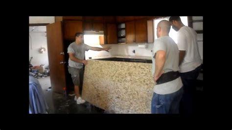 kitchen remodel part iii granite