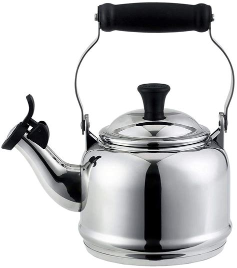 kettle tea stainless steel creuset le stove gas demi quart kettles induction stovetop teakettle pretty amazon qt contemporary finish essential