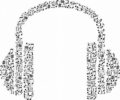 Notes Clipart Headphones Musical Headphone Clipground