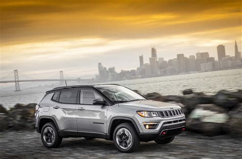 jeep compass 2017 trunk 2017 jeep compass first look automobile magazine
