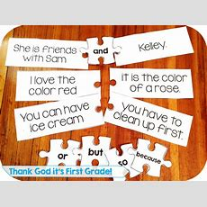 First Grade Common Core Language Activities And Printables!  Sentences, Students And Language