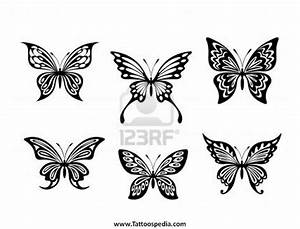 Butterfly Tattoos Black And White 4
