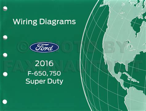 2013 Ford Fiestum Wiring Diagram by 2016 Ford F 650 And F 750 Duty Truck Wiring Diagram