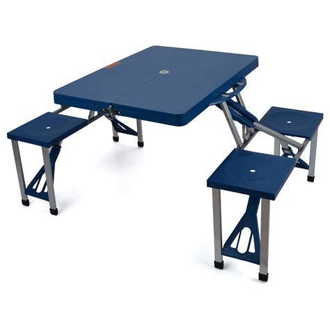 folding table with bench best cing table cing