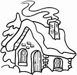 Smoke Chimney Drawing Coloring Houses Sketch Buildings Signspecialist Credit Larger sketch template