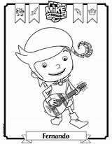 Mike Knight Coloring Fernando Pages Bard Getcoloringpages Troll sketch template