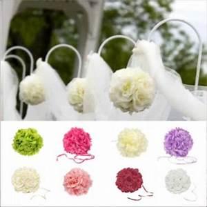 Fleurs Pas Cher Mariage : boule de fleurs artificielles ~ Nature-et-papiers.com Idées de Décoration