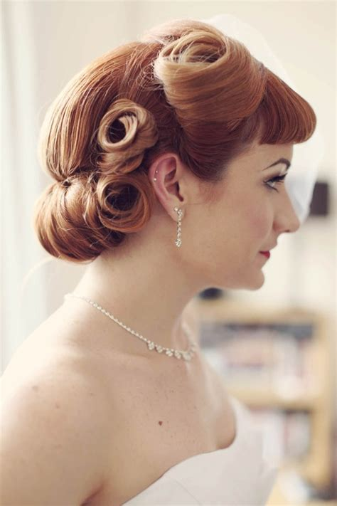 1950s Wedding Hairstyles by 50 S We Do Weddings