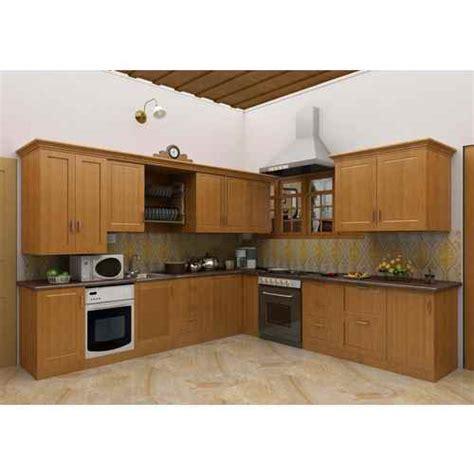 wooden modular kitchen  rs  square feet lakdi ka