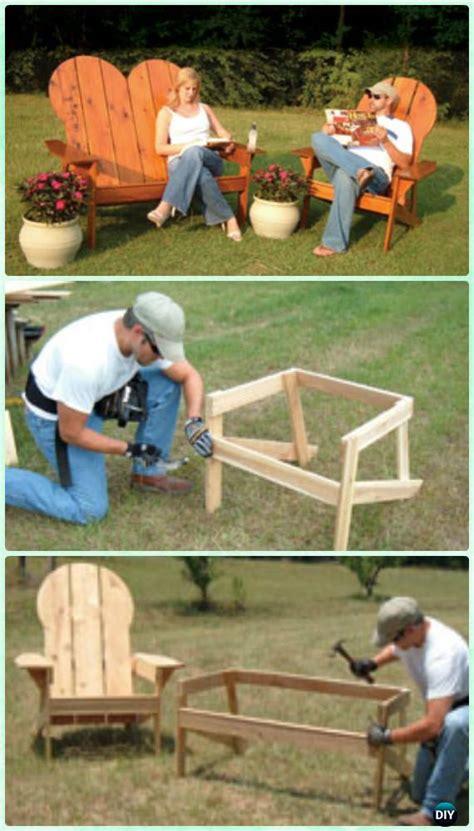 diy adirondack chair  plans instructions