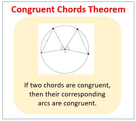 circle theorems for arcs and chords exles worksheets solutions activities