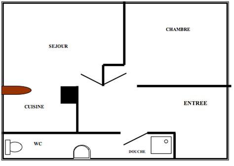 appartement cuisine americaine rousseau appartement f2
