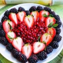 Valentine's Day Fruit Platter