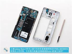 Samsung Galaxy Note 4 Disassembly