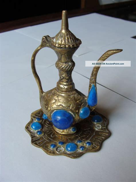 islamic bronze water jug