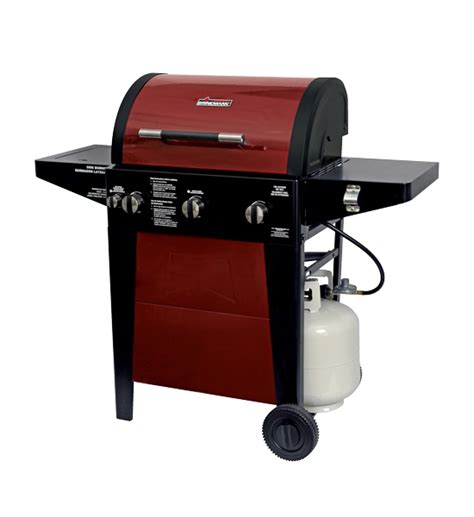 brinkmann 2 burner gas grill shop home garden grills brinkmann 3 burner gas grill