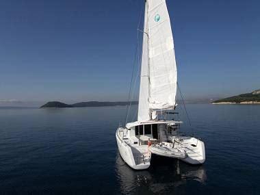 Catamaran Charter Hrvatska by Hrvatska Charter I Jedrenje Katamaran Lagoon 39 Cbm