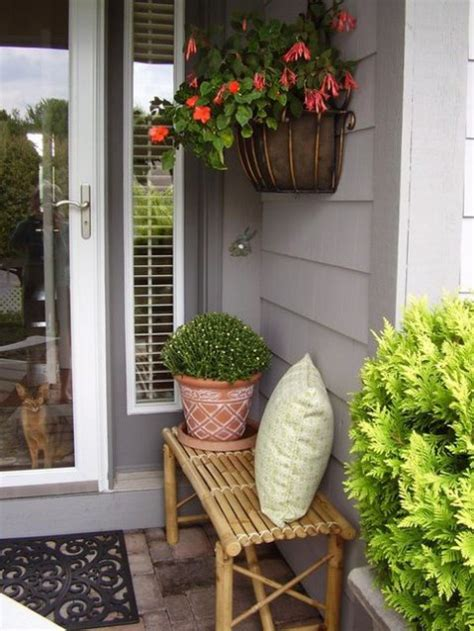 small porch decor 24 small porch decor ideas to try comfydwelling