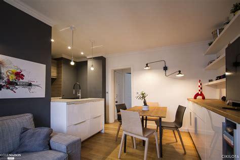 salon cuisine design cuisine ouverte sur salon 30m2 fabuleux cuisine ouverte