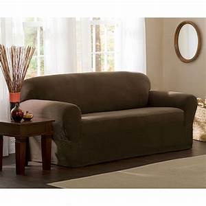 maytex stretch 2 piece sofa slipcover walmartcom With two piece sectional sofa slipcovers